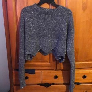 NWT Cropped sweater